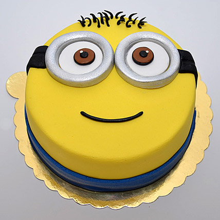 Minion for you Cake 2kg Eggless