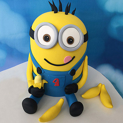 Minion with Bananas Cake 2kg