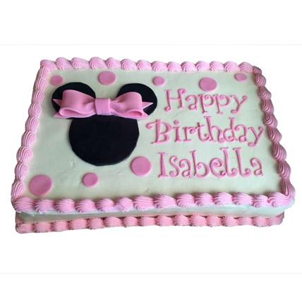 Minnie Mouse Yummy Cake 3kg