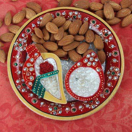 Perfect Marble Pooja Thali