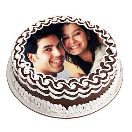 Personalized Chocolate Delicacy 2kg Eggless