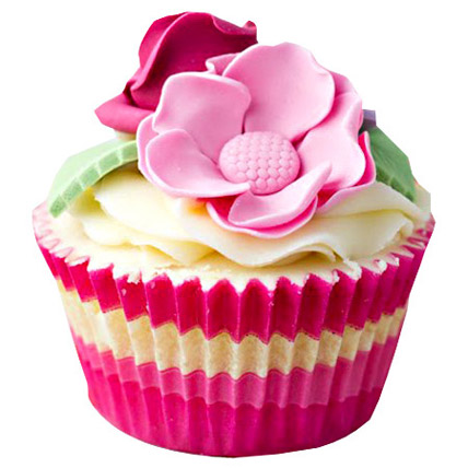 Pink Flower Cupcakes 12