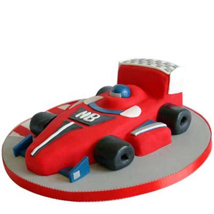Red Hot Ferrari Car Cake 2kg
