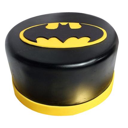 Shining Batman Cream Cake half kg Eggless