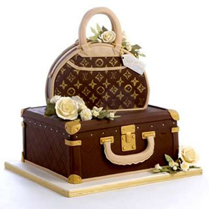 Showy LV Bag Cake 4kg