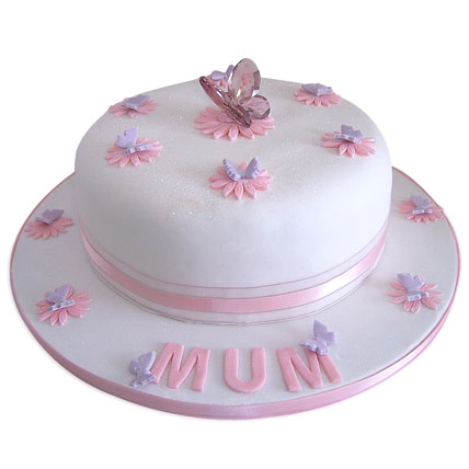 Simple and Sweet Love Mom Cake 3kg Butterscotch