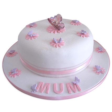 Simple and Sweet Love Mom Cake 4kg Eggless Truffle