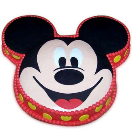Soft Mickey Face Cake 2kg