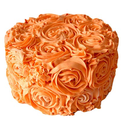Special Orange Cake 2kg Eggless