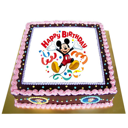 Special Photo Cake 4kg Eggless FNP