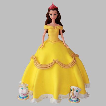 Sunshine Barbie Cake 3kg