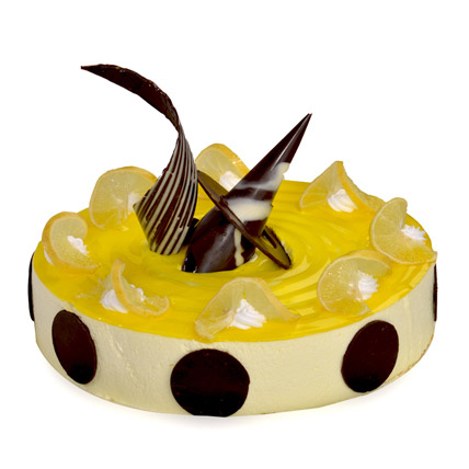 Tangy Lemon Cheese Cake 2kg Eggless