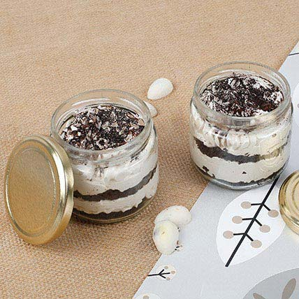 Trendy Tiramisu Jar Cake Jar Cake Set of 2