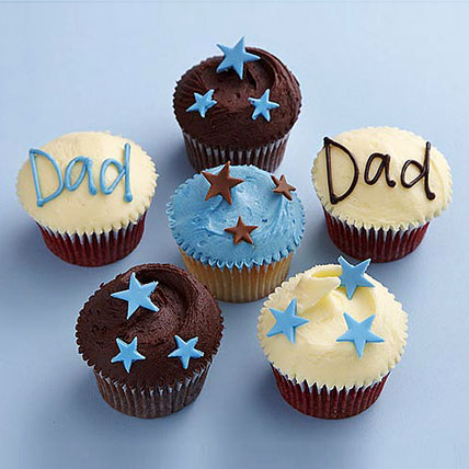 Twinkling Stars Cupcakes for Dad 24