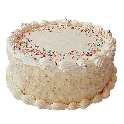 Vanilla Temptation Cake 1 Kg Eggless