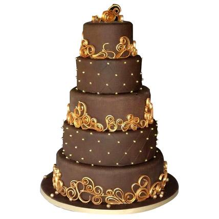 Wedding Celebrations Chocolate Cake 15kg