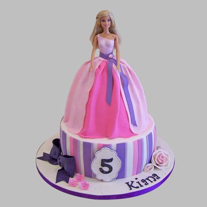 Wishful Barbie Cake 3kg Eggless