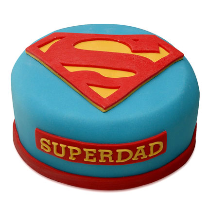 Yummy Super Dad Special Cake 3kg Eggless