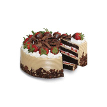 Choco n Strawberry Gateaux: Cake Delivery in Malaysia