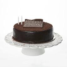 Rocket Kitchen- Happy Birthday Chocolate Decadence Cake (9 Inch)