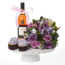 Lilac Luxury Cake Combo