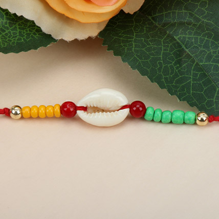 Sea Shell Charm Rakhi QAT