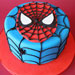 Just for you Spiderman Cake 1kg