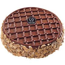 Round Choco Fudge Cake: Cake Delivery in Singapore