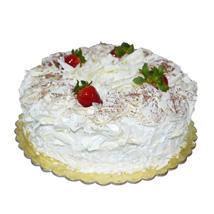 1 Kg White Forest Cake: Send Cakes to Ajman