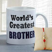Brother's Favorite Mug: Send Rakhi to Al Ain