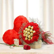 Choco Carnations: Flower Delivery in UAE