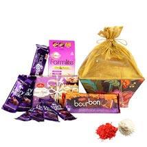 Chocolicious Hamper UAE: Send Bhai Dooj Sweets to UAE