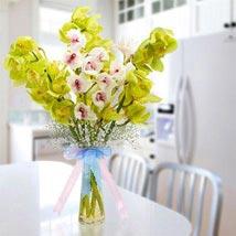 Cymbidium Bunch: Send Flowers for Girlfriend to UAE