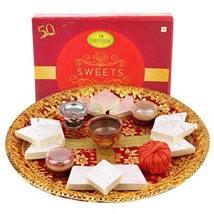 Deepavali Pooja Thali: Send Diwali Sweets to Abu Dhabi