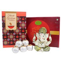Diwali Greetings with Ganesha: Diwali Sweets Abu Dhabi