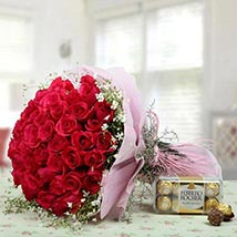 Elegant Combo For U: Flower Bouquets to UAE