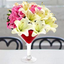 Floral Margarita: Rose Day Gifts