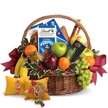 Fruitful Hamper with Rakhi: Send Rakhi to Fujairah