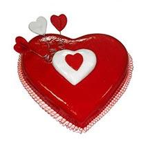 Heart Love Cake: