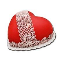 Heart Shaped Full Cake: