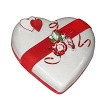 Heart Valentine Cake: