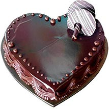 Heartshape Chocolate Truffle: Cakes for Valentines Day