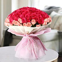 Mixed Colour Blast: Anniversary Bouquet to UAE