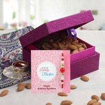 Purple Box Hamper: Send Rakhi to Al Ain