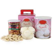 Rasgulla With Cashews UAE: Send Bhai Dooj Sweets to UAE