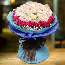 Royal Rose Bouquet: Send Flower Bouquets to UAE