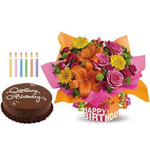 Special Birthday Surprise: Birthday Flowers and Cakes in UAE