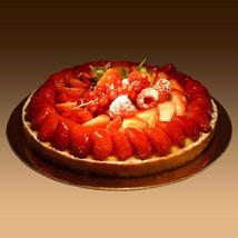 Strawberry Tart: Send Cakes to Ajman