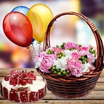 Stunning Gathering: Birthday Flowers and Cakes to UAE