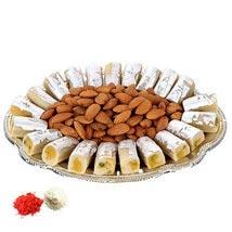 Sweet Burst Plate UAE: Bhai Dooj Sweets to UAE